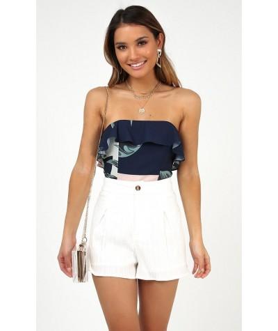 Im A Mess Shorts White