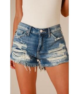 Hilton Shorts In Medium Wash