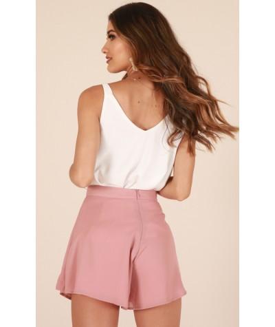 Spring Retreat Shorts In Blush