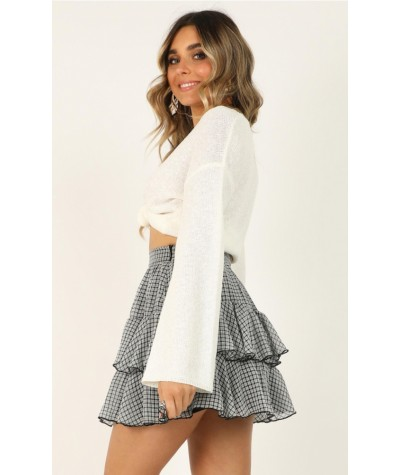 Latest Find Skirt In Black Check